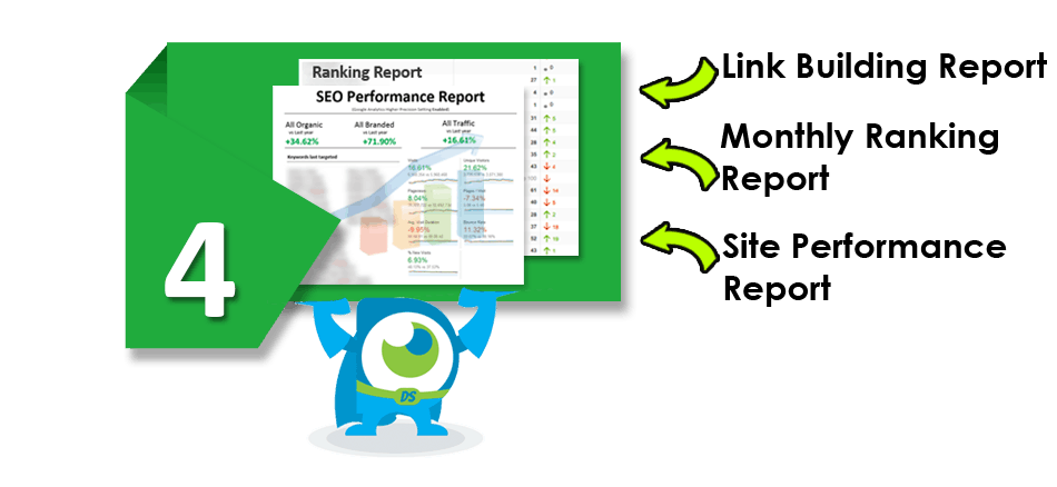 Reporting for SEO services London
