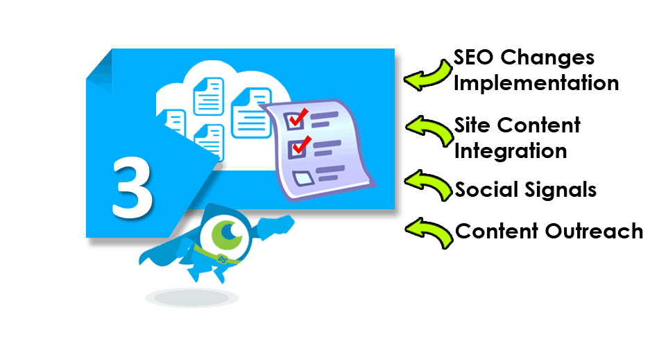 Stage 3: SEO expert implementation
